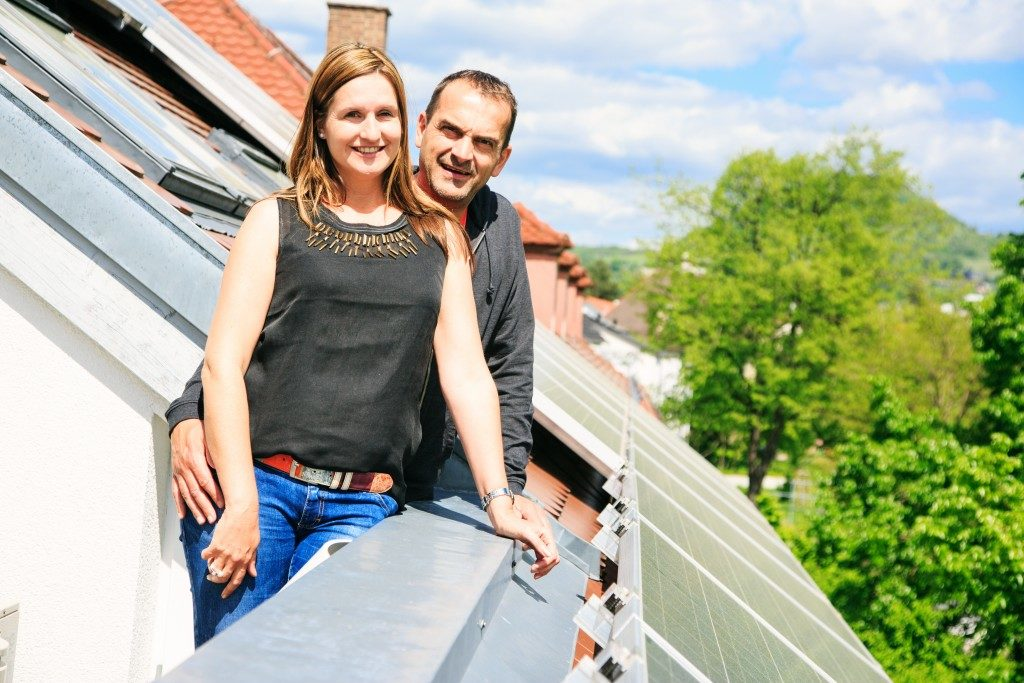 living in a sustainable house