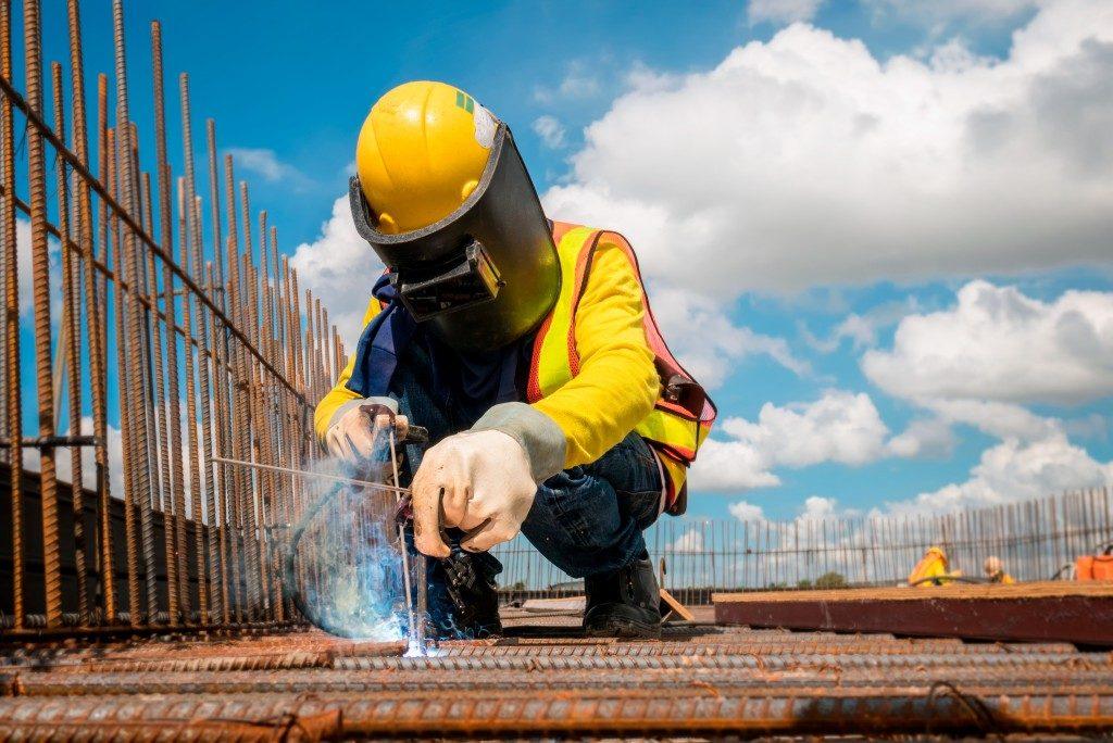 welding scaffolding