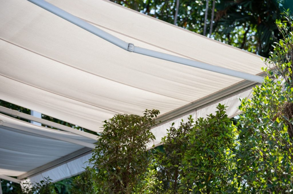 Awning for the shade