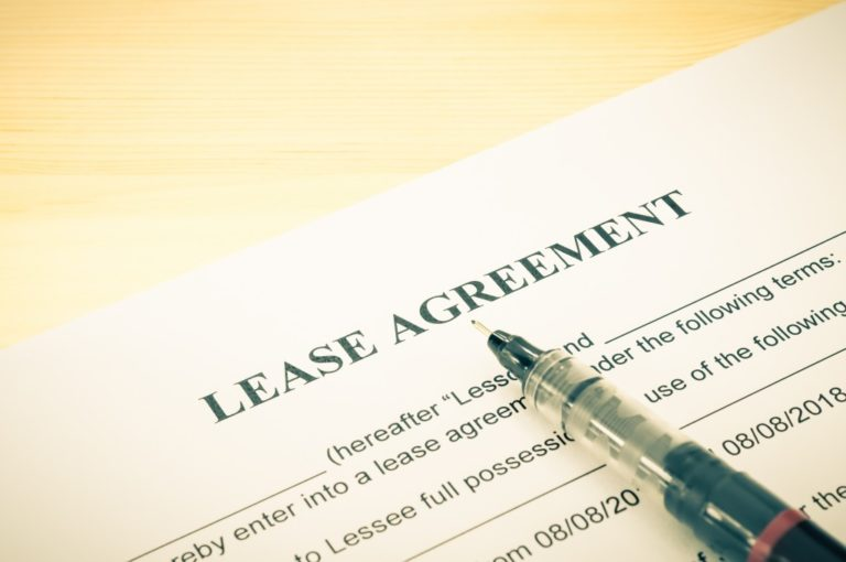 lease agreement contract