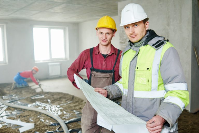 men in construction outfits