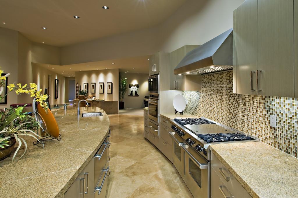 fancy kitchen